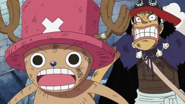 One Piece Episódio - 376As Habilidades Nikyu Nikyu De Kuma!