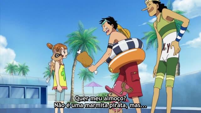 One Piece Episódio - 382A Ameaça Noro Noro!