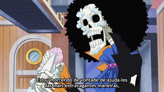 One Piece Episódio - 384O Duro Esforço De Brooke.