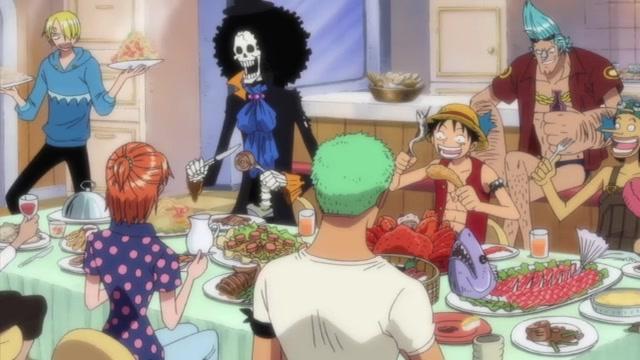 One Piece Episódio - 385O Meio Da Grand Line. Chegamos!