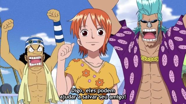 One Piece Episódio - 386Um Rancor Contra Os Chapéus De Palha!
