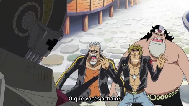One Piece Episódio - 387Reencontro Predestinado!