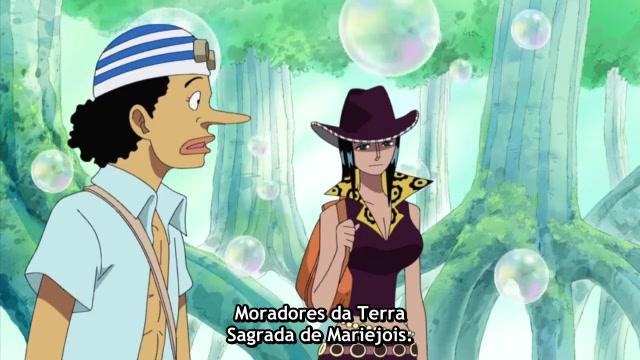 One Piece Episódio - 390Desembarcando Para Chegar Na Ilha