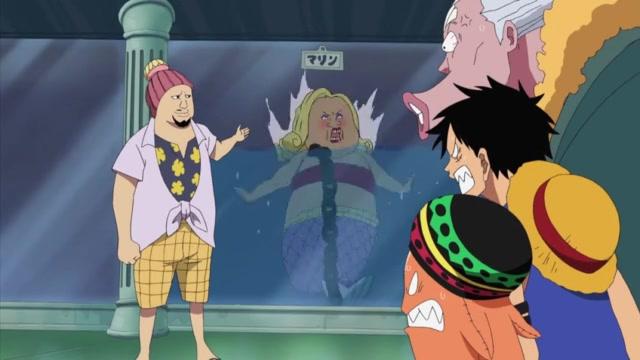 One Piece Episódio - 394Salvem A Caimie!