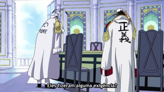 One Piece Episódio - 398O Almirante Kizaru Se Move!