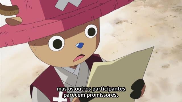 One Piece Episódio - 406Episódio Especial Histórico