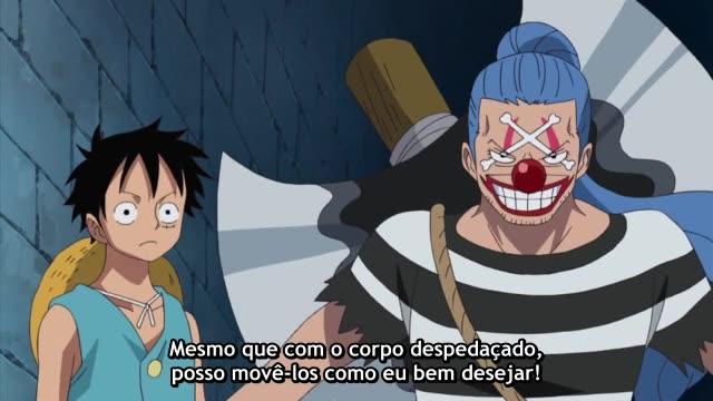 One Piece Episódio - 425O Homem Mais Forte Da Prisão.