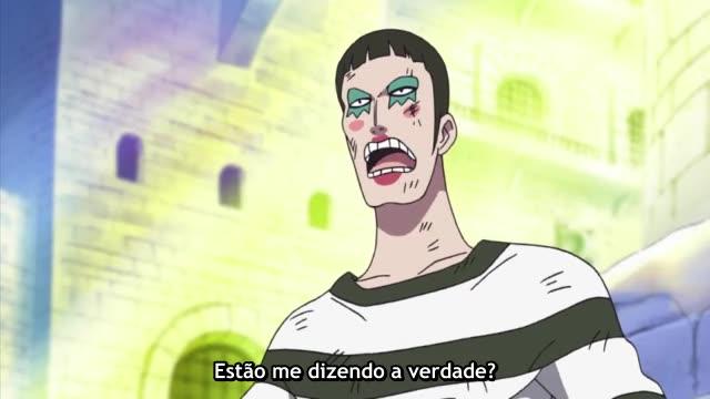 One Piece Episódio - 432O Cisne é Libertado!