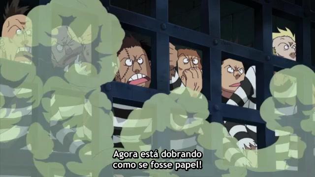 One Piece Episódio - 442A Escolta De Ace. Batalha No Level 6,