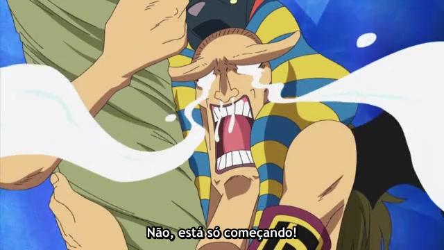 One Piece Episódio - 444Ainda Mais Caos!