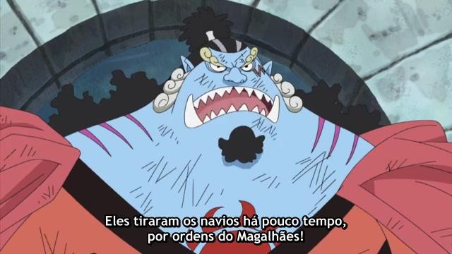One Piece Episódio - 449O Esperto Movimento De Magellan!