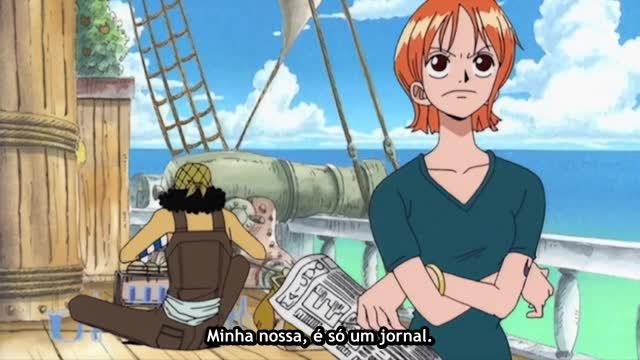 One Piece Episódio - 45Procura-se! O Mundo Conhece Luffy Chapéu De Palha!