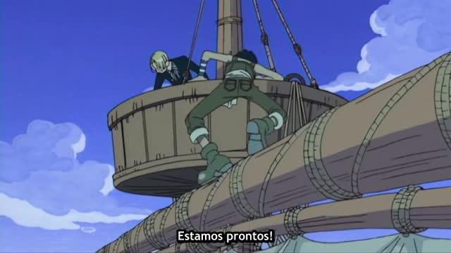 One Piece Episódio - 46Atrás Do Chapéu De Palha!