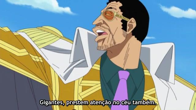 One Piece Episódio - 463Um Inferno Que Consome Tudo!