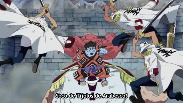 One Piece Episódio - 479Enfim O Cadafalso!