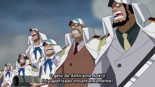 One Piece Episódio - 481Ace é Resgatado!