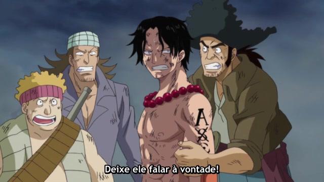 One Piece Episódio - 482O Poder Que Pode Queimar Até Mesmo O Fogo