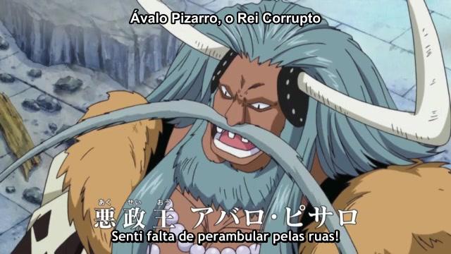 One Piece Episódio - 484Destruição Do Quartel General Da Marinha!