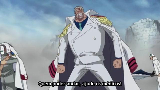 One Piece Episódio - 489A Chegada De Shanks!