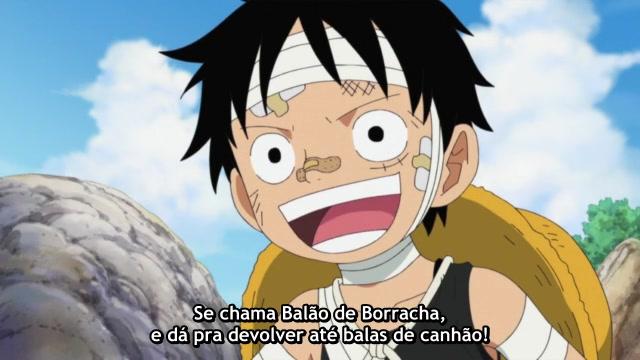 One Piece Episódio - 495Eu Não Fugirei!