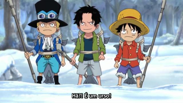 One Piece Episódio - 498Luffy, O Aprendiz!?