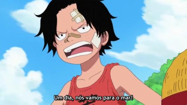 One Piece Episódio - 503Conto com você!
