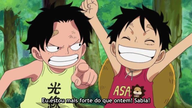 One Piece Episódio - 504Para Cumprir a Promessa