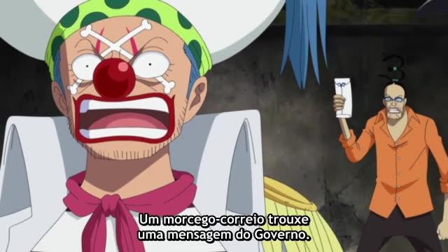 One Piece Episódio - 512Reportem aos Companheiros