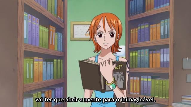 One Piece Episódio - 514Sobrevivendo ao inferno
