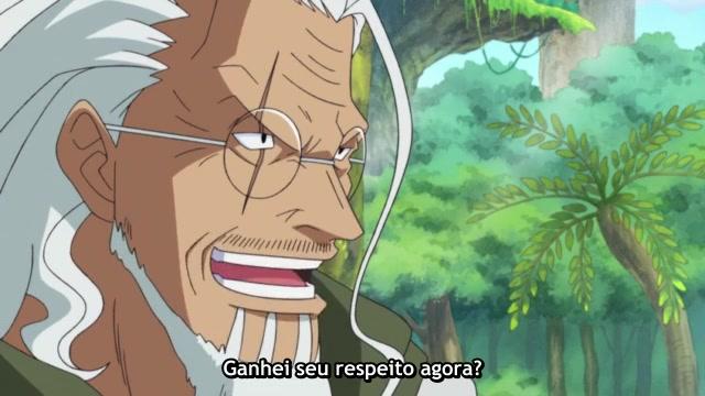 One Piece Episódio - 516Luffy começa o treinamento
