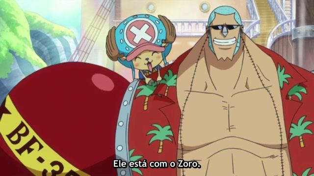 One Piece Episódio - 520A conclusão do astro!