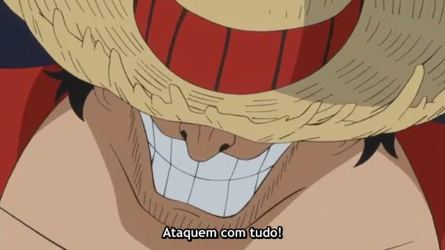 One Piece Episódio - 521Começa a batalha!