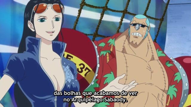One Piece Episódio - 523Uma revelação chocante!