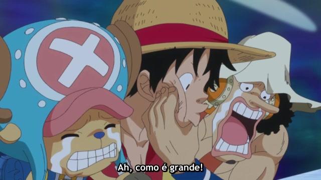 One Piece Episódio - 524Combate mortal no fundo do mar!