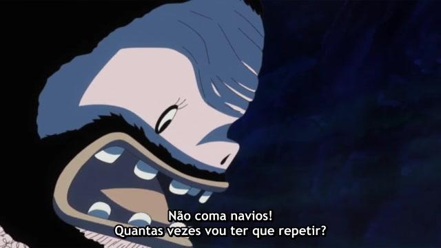 One Piece Episódio - 525Desastre no fundo do mar!