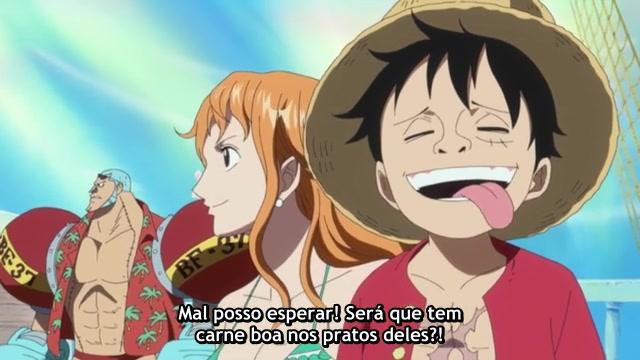 One Piece Episódio - 526Erupção vulcânica submarina!