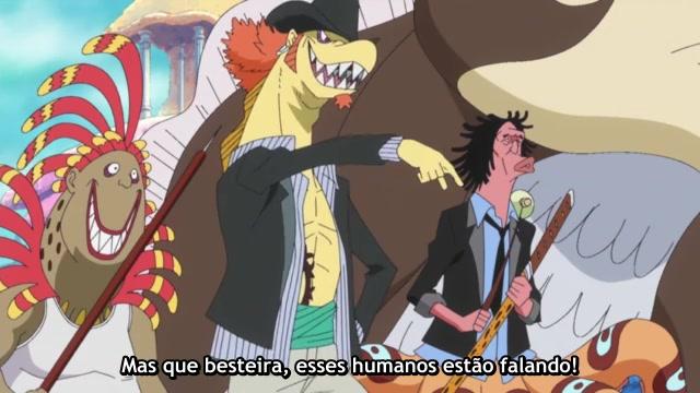 One Piece Episódio - 528Explosão de Excitação!