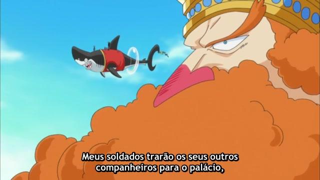 One Piece Episódio - 531Palácio de Ryuugu!
