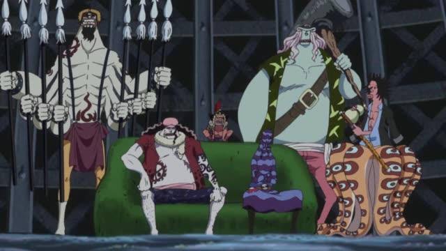 One Piece Episódio - 534Palácio Ryuugu em caos!
