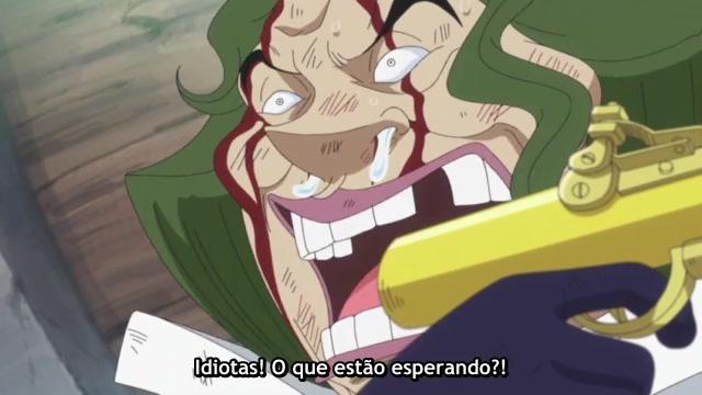 One Piece Episódio - 545A Ilha dos Tritões Treme!