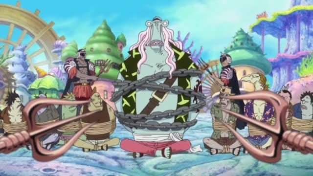 One Piece Episódio - 550A Transformação de Hody.