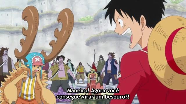 One Piece Episódio - 557O Pirata de Ferro!
