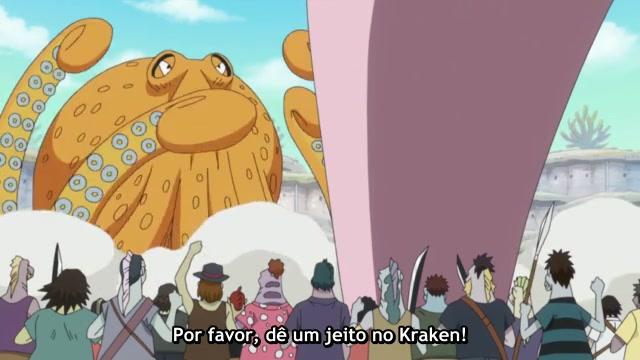 One Piece Episódio - 560Começa o Combate!