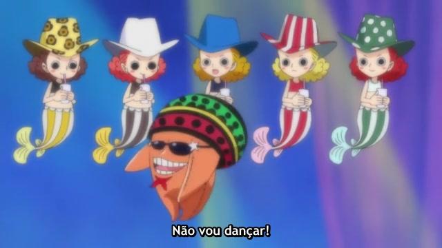 One Piece Episódio - 569Segredo Revelado
