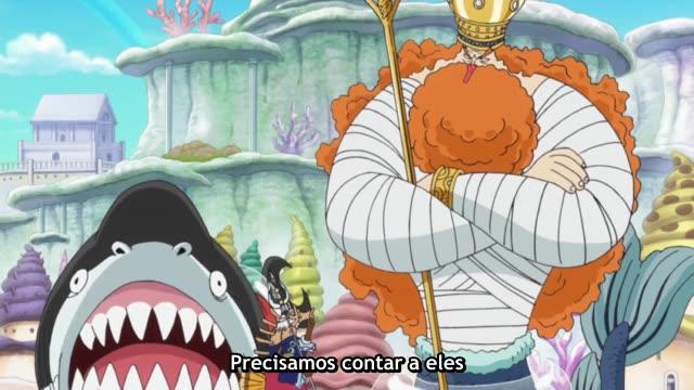 One Piece Episódio - 573Finalmente Definindo a vela!