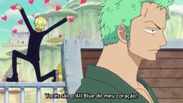 One Piece Episódio - 574Para o novo mundo!