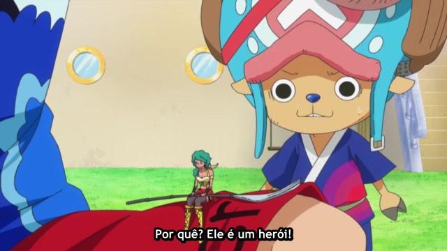 One Piece Episódio - 575A Ambição de Z. Lily