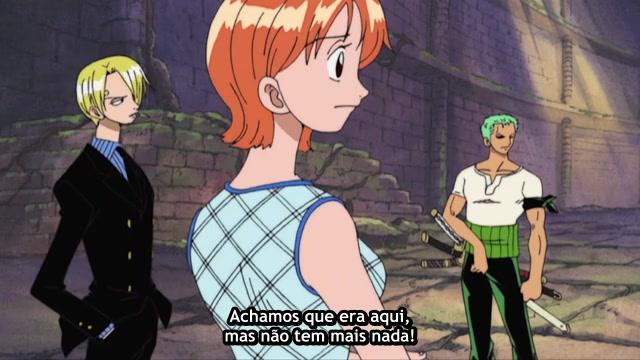 One Piece Episódio - 58O Duelo Nas Ruínas!