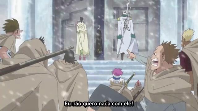 One Piece Episódio - 584Um Duelo de Esgrima!