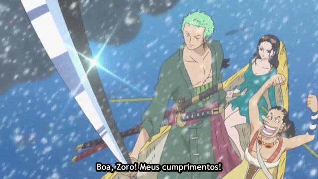 One Piece Episódio - 585Shichibukai!